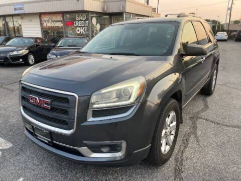 2014 GMC Acadia for sale at A&R Motors in Baltimore MD