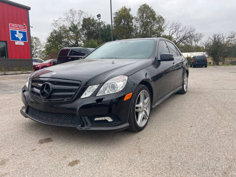 2010 Mercedes-Benz E-Class for sale at Space City Auto Center in Houston TX