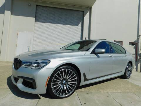 2017 BMW 7 Series for sale at Conti Auto Sales Inc in Burlingame CA