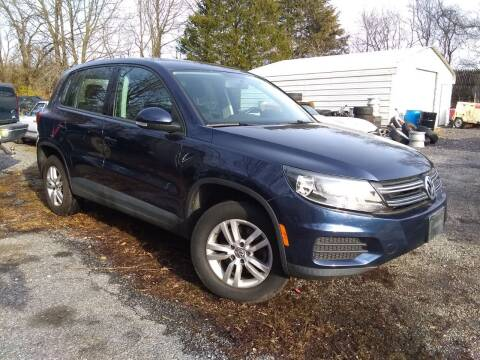 2013 Volkswagen Tiguan for sale at CAR FINDERS OF MARYLAND LLC in Eldersburg MD