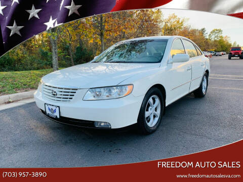 2006 Hyundai Azera for sale at Freedom Auto Sales in Chantilly VA