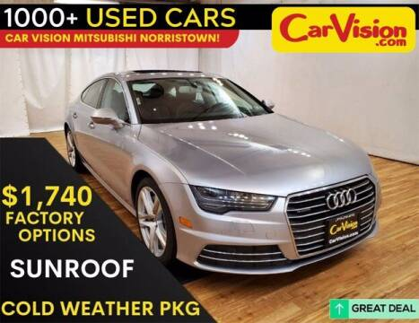 2017 Audi A7 for sale at Car Vision Buying Center in Norristown PA