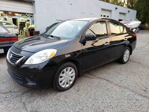 2012 Nissan Versa for sale at Devaney Auto Sales & Service in East Providence RI
