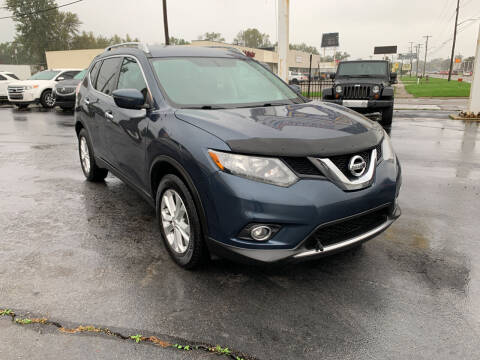 2016 Nissan Rogue for sale at Summit Palace Auto in Waterford MI