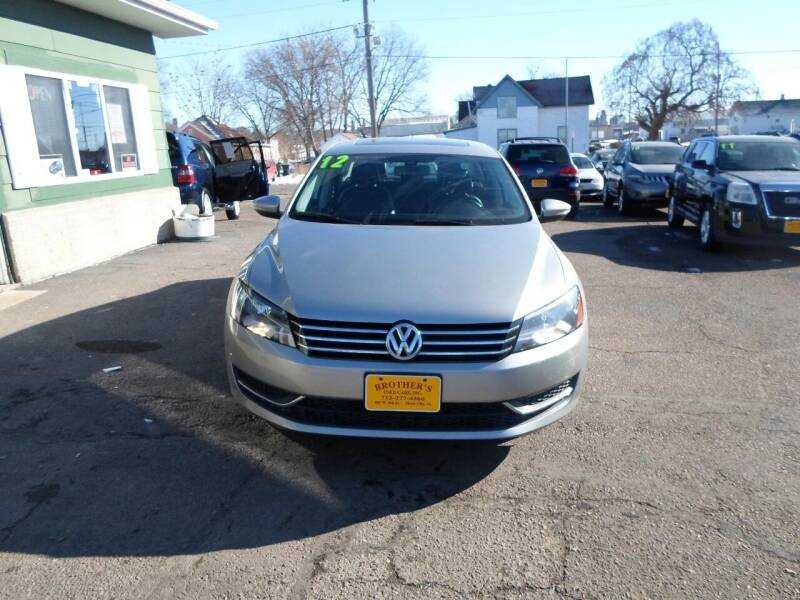 2012 Volkswagen Passat for sale at Brothers Used Cars Inc in Sioux City IA