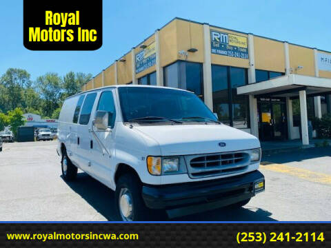 2002 Ford E-Series Cargo for sale at Royal Motors Inc in Kent WA