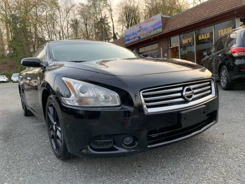 2013 Nissan Maxima for sale at D & M Discount Auto Sales in Stafford VA