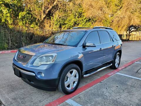 2008 GMC Acadia for sale at DFW Autohaus in Dallas TX