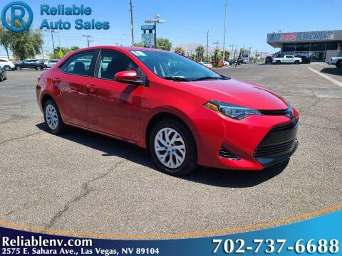 2018 Toyota Corolla for sale at Reliable Auto Sales in Las Vegas NV