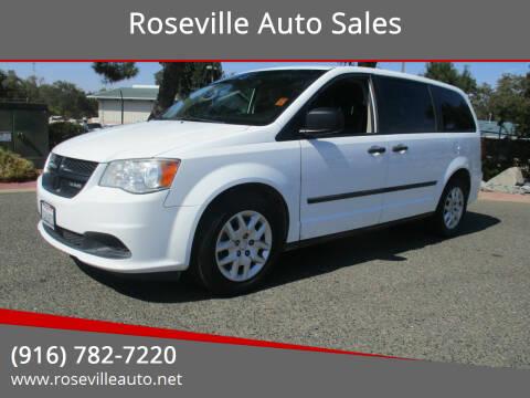 2014 RAM C/V for sale at Roseville Auto Sales in Roseville CA
