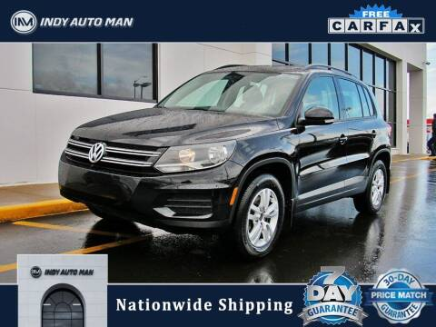 2016 Volkswagen Tiguan for sale at INDY AUTO MAN in Indianapolis IN