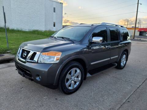 2012 Nissan Armada for sale at DFW Autohaus in Dallas TX