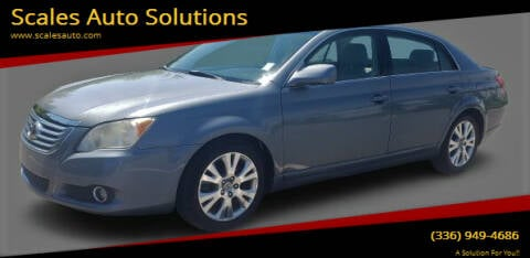 2008 Toyota Avalon for sale at Scales Auto Solutions in Madison NC