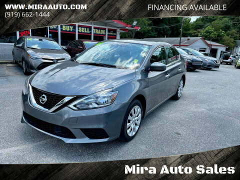 2018 Nissan Sentra for sale at Mira Auto Sales in Raleigh NC