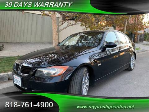 2008 BMW 3 Series for sale at Prestige Auto Sports Inc in North Hollywood CA