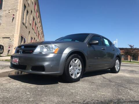 2012 Dodge Avenger for sale at Budget Auto Sales Inc. in Sheboygan WI