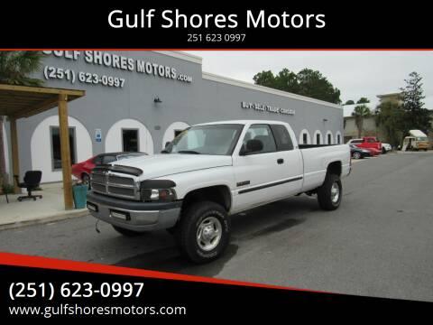 2000 Dodge Ram Pickup 2500 for sale at Gulf Shores Motors in Gulf Shores AL