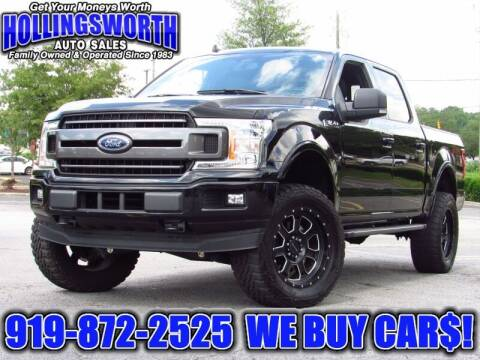2018 Ford F-150 for sale at Hollingsworth Auto Sales in Raleigh NC