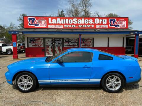 2010 Ford Mustang for sale at LA Auto Sales in Monroe LA