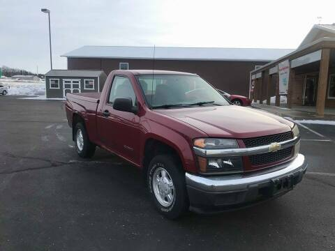 2004 Chevrolet Colorado for sale at Cannon Falls Auto Sales in Cannon Falls MN
