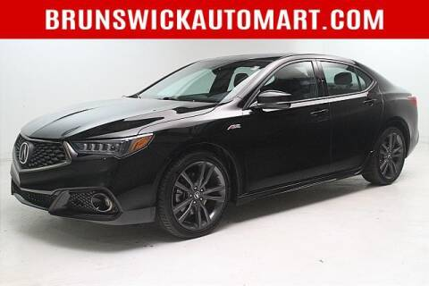 2019 Acura TLX for sale at Brunswick Auto Mart in Brunswick OH
