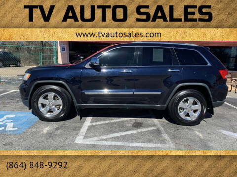 2011 Jeep Grand Cherokee for sale at TV Auto Sales in Greer SC