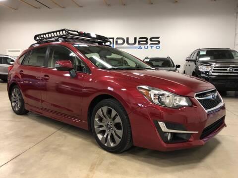 2015 Subaru Impreza for sale at DUBS AUTO LLC in Clearfield UT