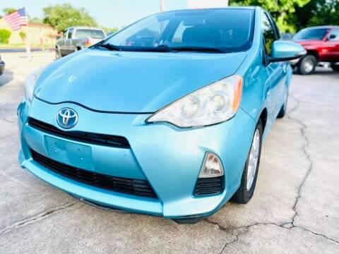 2012 Toyota Prius c for sale at Testarossa Motors Inc. in League City TX
