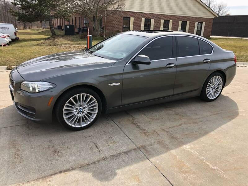 2014 BMW 5 Series for sale at Renaissance Auto Network in Warrensville Heights OH