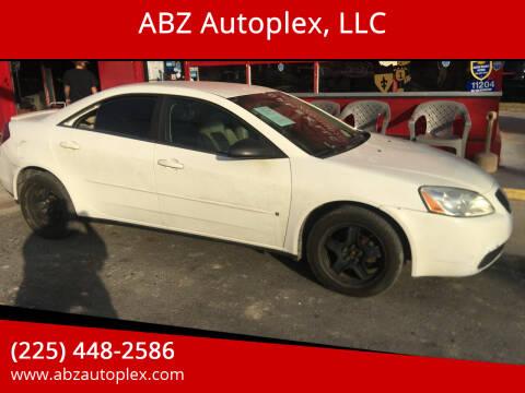 2007 Pontiac G6 for sale at ABZ Autoplex, LLC in Baton Rouge LA