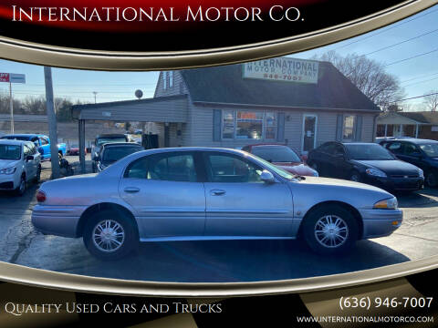 2005 Buick LeSabre for sale at International Motor Co. in St. Charles MO