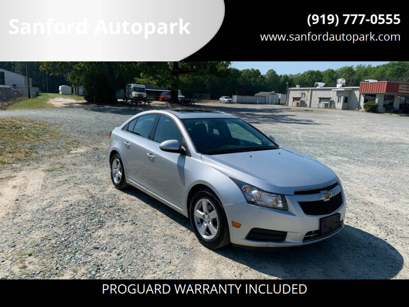 2014 Chevrolet Cruze for sale at Sanford Autopark in Sanford NC