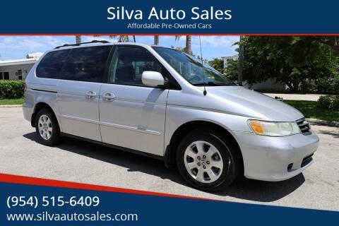2004 Honda Odyssey for sale at Silva Auto Sales in Pompano Beach FL