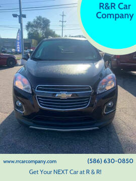 2015 Chevrolet Trax for sale at R&R Car Company in Mount Clemens MI