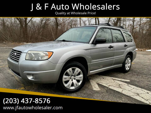 2008 Subaru Forester for sale at J & F Auto Wholesalers in Waterbury CT