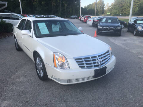 2008 Cadillac DTS for sale at Galaxy Auto Sale in Fuquay Varina NC
