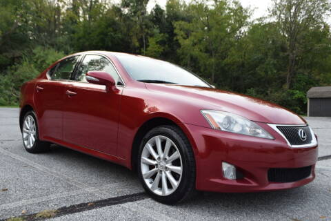 2010 Lexus IS 250 for sale at CAR TRADE in Slatington PA
