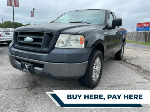 2008 Ford F-150 for sale at H3 MOTORS in Dickinson TX