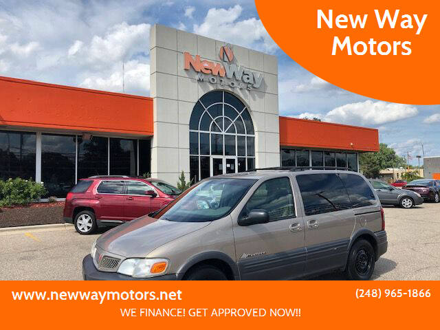 2003 Pontiac Montana for sale at New Way Motors in Ferndale MI