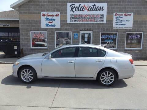 2007 Lexus GS 350 for sale at Relaxation Automobile Station in Moorhead MN