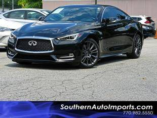 2017 Infiniti Q60 for sale at Used Imports Auto - Southern Auto Imports in Stone Mountain GA