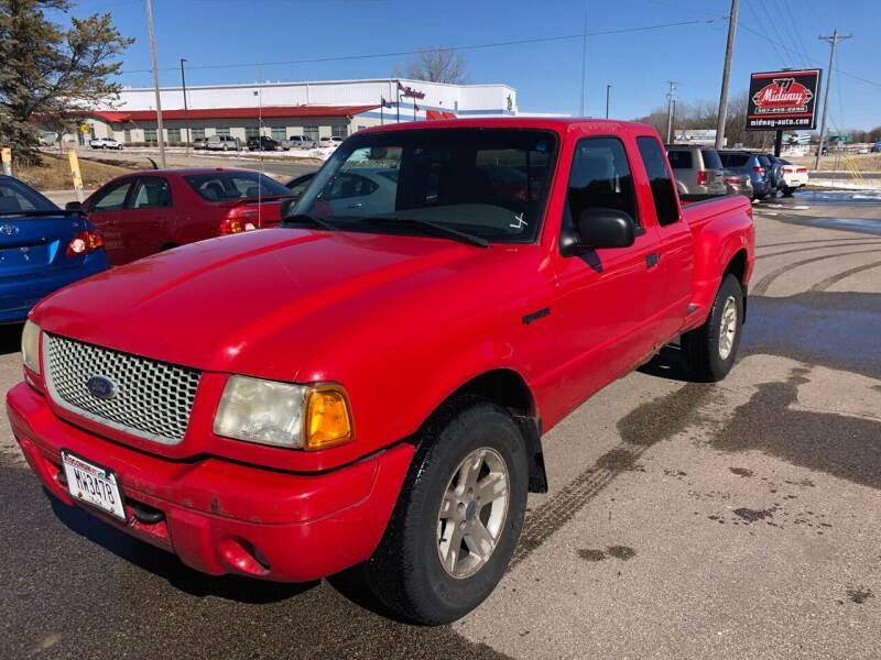 2002 Ford Ranger for sale at Midway Auto Sales in Rochester MN