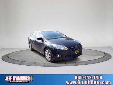 2012 Ford Focus for sale at Jeff D'Ambrosio Auto Group in Downingtown PA
