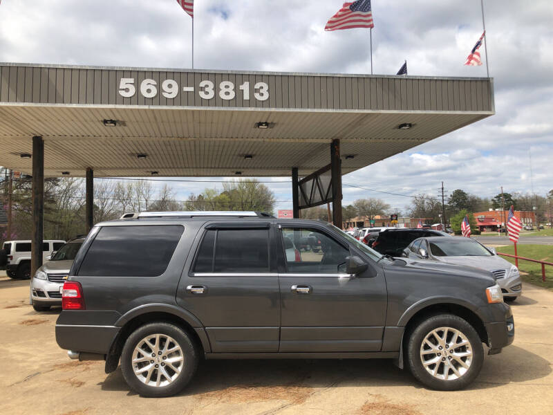 2015 Ford Expedition for sale at BOB SMITH AUTO SALES in Mineola TX