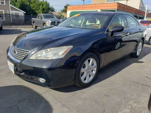 2008 Lexus ES 350 for sale at First Shift Auto in Ontario CA
