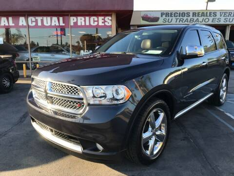2013 Dodge Durango for sale at Sanmiguel Motors in South Gate CA
