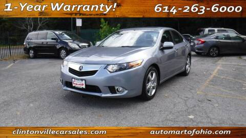 2011 Acura TSX for sale at Clintonville Car Sales - AutoMart of Ohio in Columbus OH