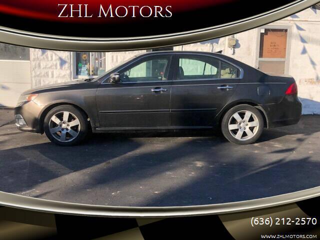 2009 Kia Optima for sale at ZHL Motors in House Springs MO