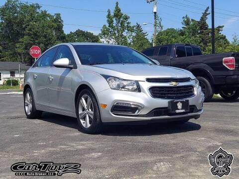 2015 Chevrolet Cruze for sale at Distinctive Car Toyz in Pleasantville NJ