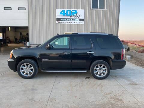 2011 GMC Yukon for sale at 402 Autos in Lindsay NE
